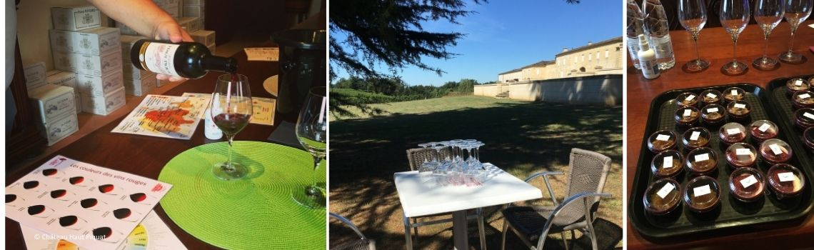 Location vélo + Accords mets et vin au Château Haut Piquat