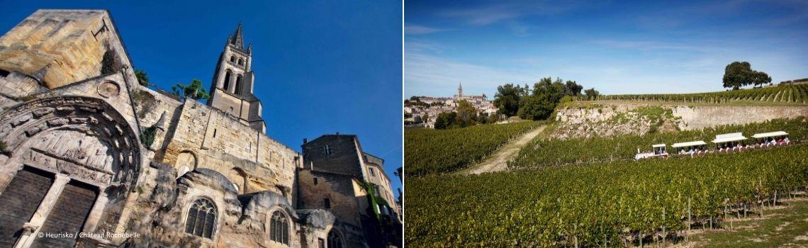 Train des Grands Vignobles + Saint-Emilion Souterrain